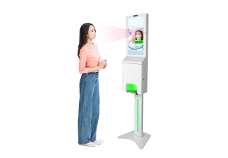 21.5 inch Digital Signage with Automatic Hand Sanitizer Dispenser